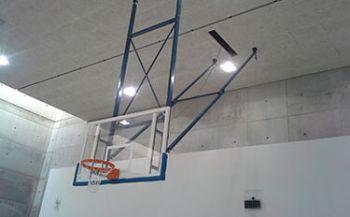Basketball Anlage Turnhalle Levi Montebelluna
