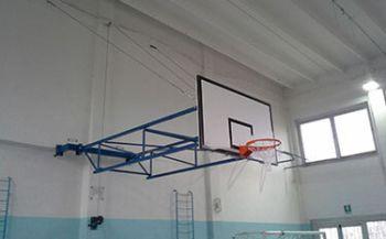 Basketball-Anlage Turnhalle Via Grassi Rho