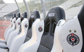 Stadion Bänke Partizan Belgrad