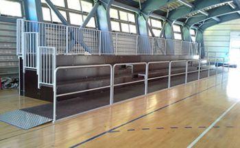 Tribüne Turnhalle Musile di Piave