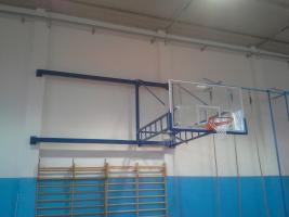 Basketball-Anlage Turnhalle Bedizzole