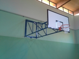 Basketball-Anlage Turnhalle Granozzo