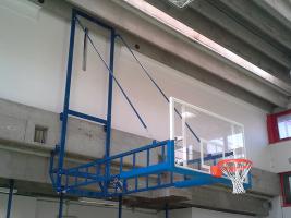 Basketball-Anlage Turnhalle Bologna