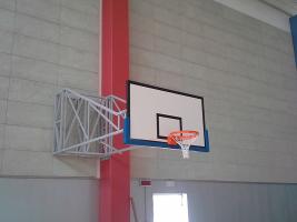 Basketball-Anlage Turnhalle Salzano
