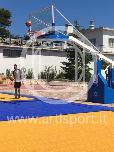 Basket facility C.U.S. of Bari - 02