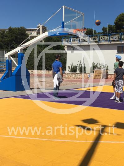 Basket facility C.U.S. of Bari - 03