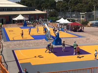 Basket facility C.U.S. of Bari - 04