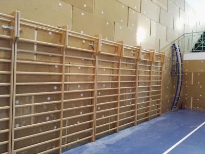Double span stall bar - Floridia Gym