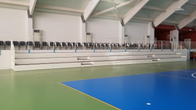 Fixed indoor grandstand for Miane Palasport-2