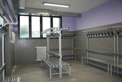 Locker room sport equipment Fonte Gym