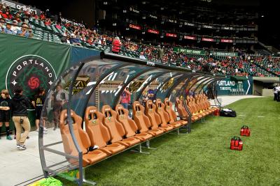 Coach Bench Portland Stadium