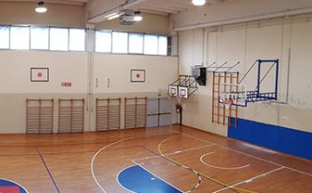 Basketball Facility Remanzacco Gym_princ