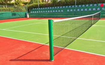 Tennis court in Riyadh, Saudi Arabia