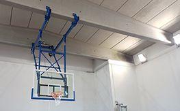 Rieti ceiling basketball facility