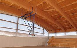 Ceiling basketball facility