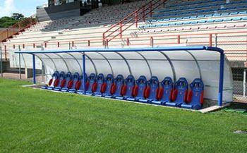 Coach Bench Vittorio Veneto Barison Stadium
