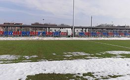 Fixed outdoor stands for the Municipal Stadium