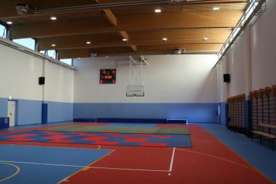 Impianto basket Palestra Azzano Decimo