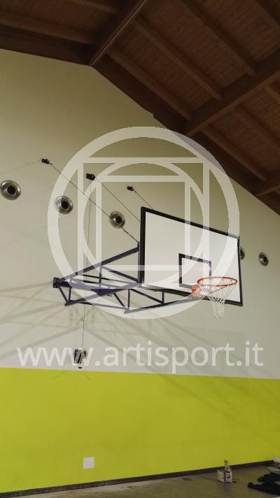 Impianto basket Palestra Comunale di Giussago - 02