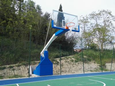 Impianto basket campo polivalente San Miniato