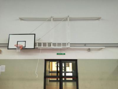 Impiato basket accostabile a parete parete - Palestra di Sava