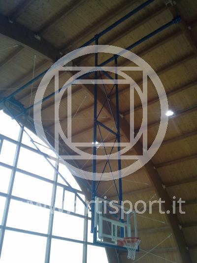 Impianto basket palestra Crocetta del Montello