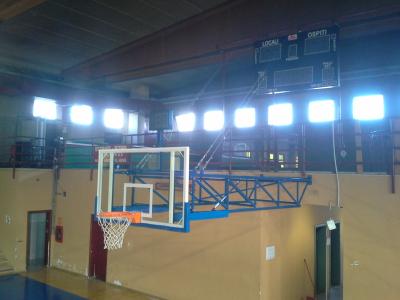 Impianto basket - Rho, via Trecate