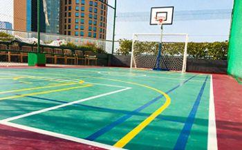 Impianto basket e calcetto - Dubai, Emirati Arabi