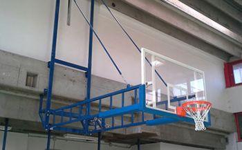 Impianto basket per palestra di bologna