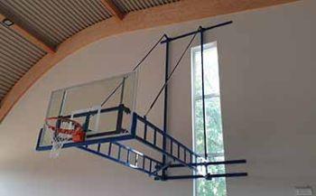 impianto da basket palestra comunale di Sommacampagna