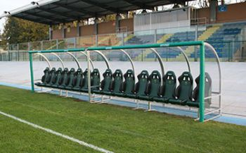 Panchine Stadio Bottecchia Pordenone