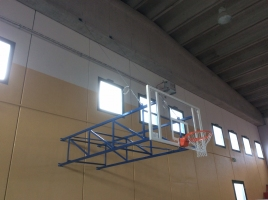 Impianto basket fisso Palestra Palagiano
