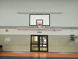 Impiato basket a parete - Palestra di Sava