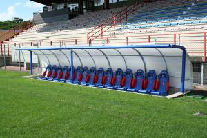 Panchine allenatori Stadio Barison