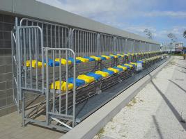 Nuova tribuna per esterno di Altanea