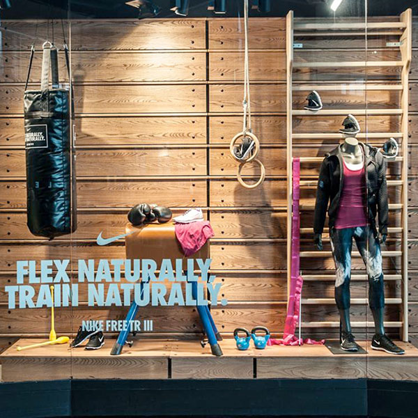 FURNISHINGS AND DECOR FOR NIKE STORE