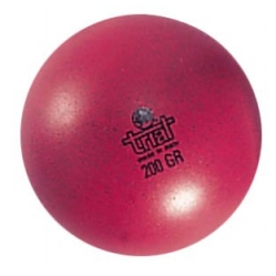 Rubber ball, weight gr.200