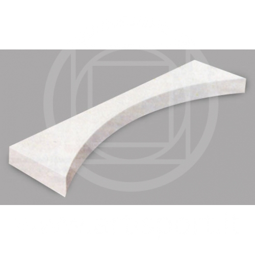 Toe-board in fibreglass
