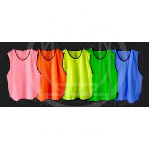 Bibs and pinnies for football coaching