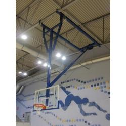 Basketballanlage für die Decke F.I.B.A. zertifiziert