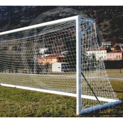 Vorschriftsmäßige Fussballtore, transportierbar